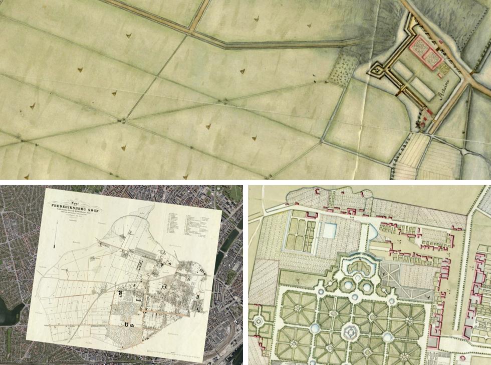 Historiske Kort Over Frederiksberg