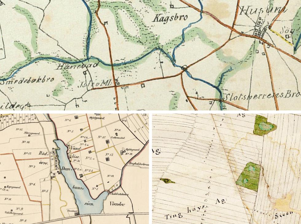 Historiske Kort Fra Kobenhavns Omegn